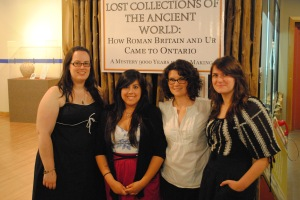 At the Lost Collections Opening