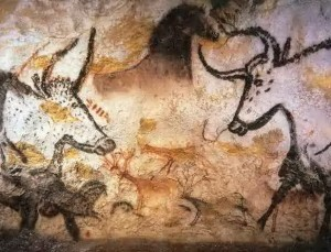 Aurochs from the so-called 'Hall of Bulls'