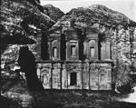 Petra (March 1900) The Deir