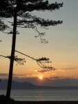 Sunset over Solway Firth